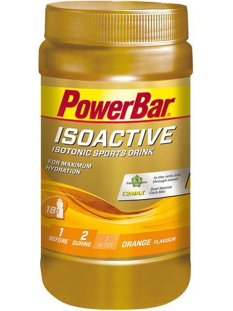 PowerBar Isoactive Sports Nutrition Orange 600g